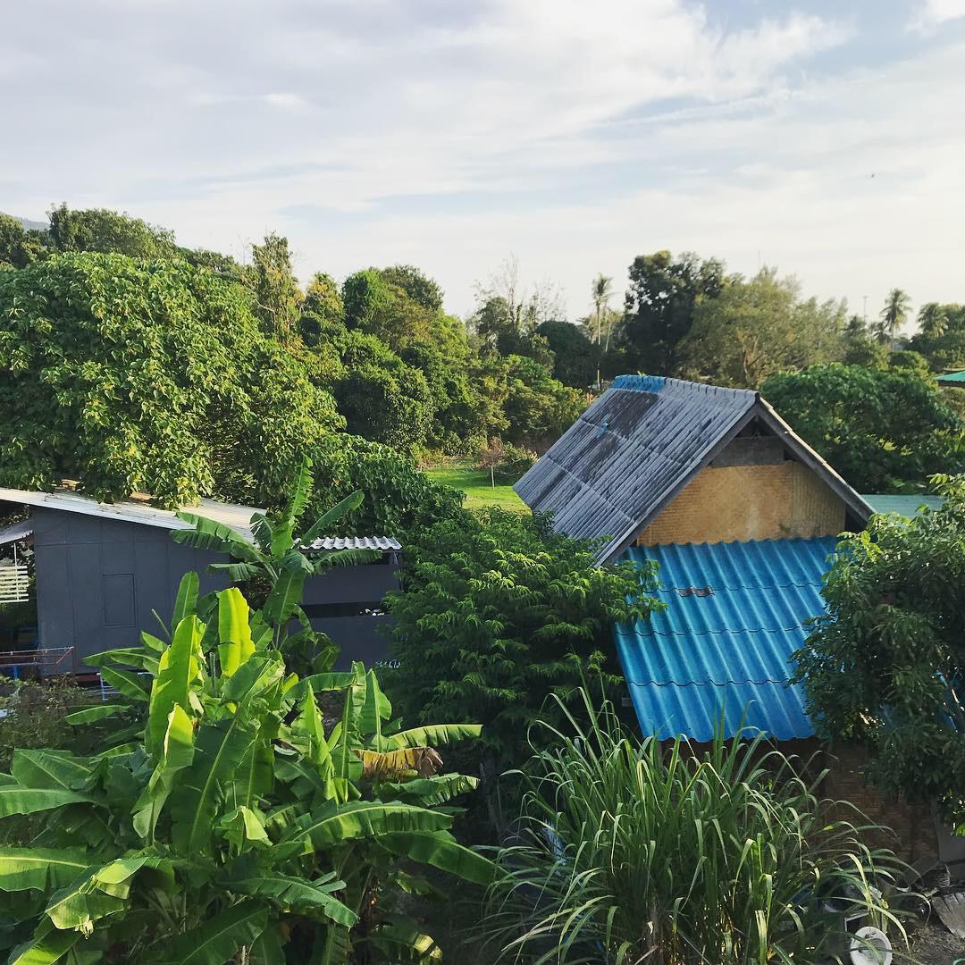 Utsikt från Noi Guesthouse, Koh Lipe.